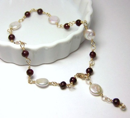 anklet_red garnet_all