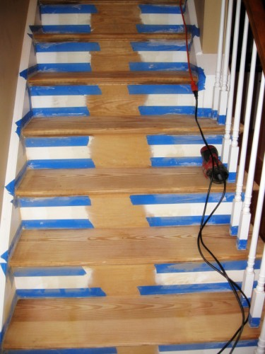 refinished_stairs9_tape